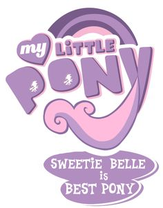 Sweetie Belle is Best Pony by PrettyCupcakes on DeviantArt Twilight Equestria Girl, Equestria Girls, Princess Cadence, My Little Pony Wallpaper, Sweetie Belle, Little Poni, My Little Pony Pictures, Mlp Pony, How To Make Logo