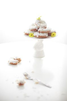 Nuts About Coconut Donut Recipe - Coco Cake Land