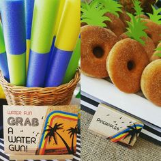 I just LOVE Summer! This stationery kit made our pool party way more awesome and fun!!!
