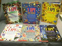 Scholastic I Spy Picture Riddle Children Books Lot of 6 Very Good Condition 0920 | eBay