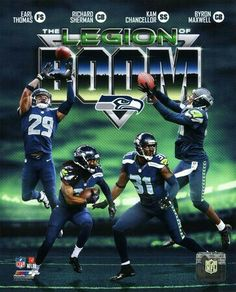 Legion Of Boom: Earl Thomas, Richard Sherman, Kam Chancellor & Byron Maxwell