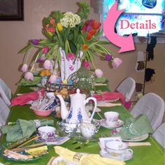 Belly Feathers :: Handmade Party Ideas Blog by Betsy Pruitt: Lovely Ladies' High Tea Party Ideas