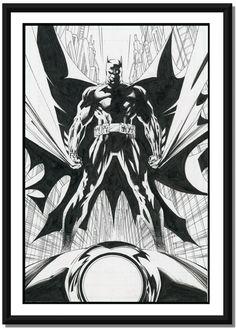 Batman by Jim Lee and Scott Williams *