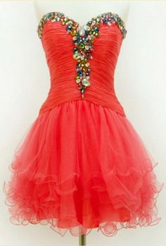 Sleeveless Red Homecoming Dresses Aline Lace Above-Knee Sweetheart