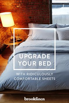 Every great sleep begins with great sheets. Brooklinen has created a whole line of luxuriously comfortable sheets, pillows and comforters that will make your entire bed feel like the cool side of the pillow. Shop the collection today and find out why these have quickly become America's best-reviewed sheets.