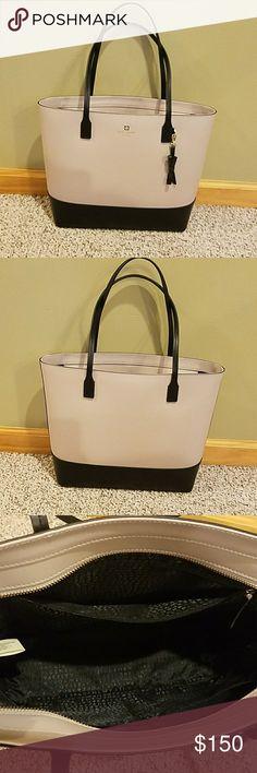 Kate Spade Bag EUC Kate Spade Bag. No wear, tear, or stains. Smoke and pet free home. Color - black, grey/purple tone. Kate Spade Bags Totes