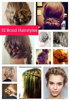 72 Braid and Knot Hairstyles to Try This Year: #hair #braid #style #inspirational #hairstyles