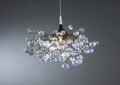 Ceiling lamp Transparent bubbles  designer by Flowersinlight, $430.00