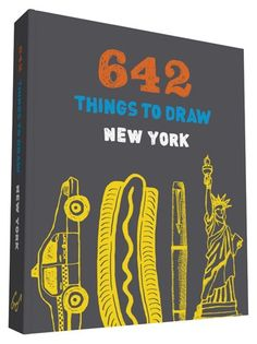Get 25% off + free ground shipping! Enter promo code 642SERIES at checkout.  Packing as much inspiration as the original bestselling 642 Things to Draw, but in portable proportions, this inventive sketchbook offers hundreds of drawing prompts that evoke the city of New York and challenges users to seek out new discoveries. This pocket-size journal is perfect for locals, tourists, and anyone who enjoys indulging in wanderlust from the comforts of home.