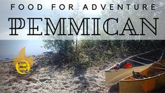 PEMMICAN | Watch this before you make food for outdoor adventures Campingfood, Outdoor Adventures, Camping Meals, Outdoor Ideas, Food To Make, Hunting, Watch, Camp Meals, Clock