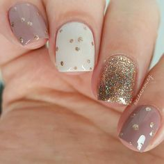 Examples Of Nail Designs for Short Nails To Inspire You ★ See more: https://naildesignsjournal.com/inspiring-nail-designs-for-short-nails/ #nails
