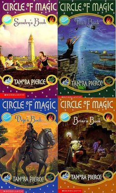 Tamora Pierce's Circle of Magic universe is an excellent example of racial and cultu...