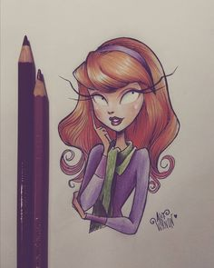 Drawings of Saturday night. Daphne from Scooby Doo 💜 Tim Burton Drawings Style, Tim Burton Art Style, Arte Tim Burton, Tim Burton Artwork, Tim Burton Sketches, Arte Horror, Horror Art, Disney Drawings, Cute Drawings