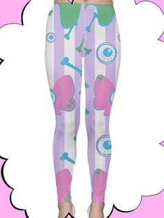 Pastel Creepy Cuteness All Over Print by PistolHauteJewels