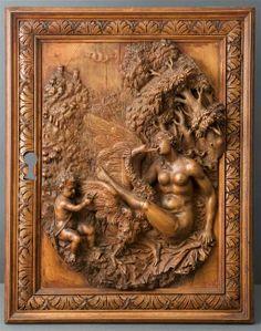 Leda, 17e siècle, Fiandre, ebano