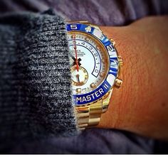 Now that's what you call a stylish watch for men