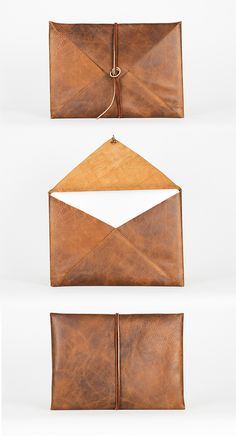 Newman Original laptop case available at stretch goal Must Have Travel Accessories, Fab Bag, Macbook Sleeve, Leather Laptop Case, Leather Bags Handmade, Ipad Case, Goal, Purses And Bags, Tasty