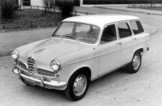 OG | 1957 Alfa Romeo Giulietta Promiscua | Prototype by Colli coachbuilder.