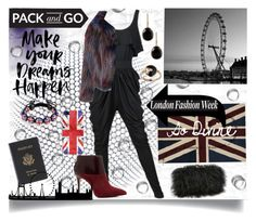 """""""LFW"""" by jeneric2015 ❤ liked on Polyvore featuring Alexander McQueen, nuLOOM, Glamorous, Sondra Roberts, Royce Leather, Effy Jewelry, Cartier, MICHAEL Michael Kors, Casetify and Bling Jewelry"""