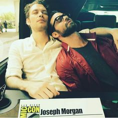 Joseph morgan and Daniel gillies sdcc 2016