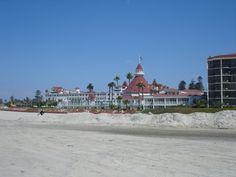 Coronado Beach near San Diego, Calif., was named Dr. Beach's Best Beach in the U.S. (Getty Images)