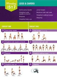 Kayla Itsines - Week 5 & 7 Monday Workout - New Ideas Kayla Workout, Kayla Itsines Workout, 12 Week Workout, Monday Workout, Workout Guide, Workout Board, Workout Plans, Workout Ideas, Bbg Training