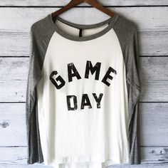 Womens Game Day Tee Football - Comfortable, Soft Game Day Sunday T Shirt - Small, Medium, Large