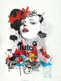 手書き感とタイポが綺麗なイラスト。センスいいな。 (via Illustrations by... | int * design & inspiration