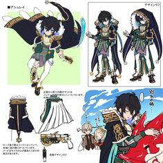 ถูกฝังไว้ Game Character Design, Character Design References, Character Design Inspiration, Character Concept, Character Art, Concept Art, Cute Characters, Fantasy Characters, Anime Characters