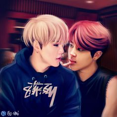 yoonmin by eto-nani *I didn't even know this ship existed