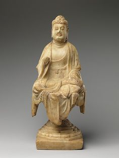 Buddha. Period: Tang dynasty (618–907). Date: mid-8th century. Culture: China. Medium: Marble.
