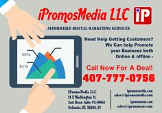 iPromosmedia; Small Business Web Development, Advertising,Digital Marketing Services; Sales. Facebook marketing, social Networks Marketing