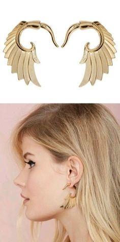 Cool n quirky winged ear jackets