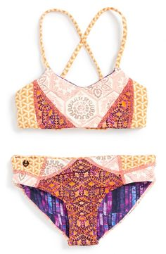 141ddd71b72c8 Maaji  The Sweetest Spot  Two-Piece Reversible Swimsuit (Big Girls)