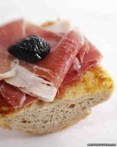 See our Prosciutto Sandwich galleries