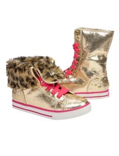 Justice shoes for girls | Fur Cuff Hightop Sneaker | Girls Sneakers Shoes | Shop Justice