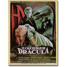Trademark Art The Horror of Dracula Canvas Wall Art, Multicolor