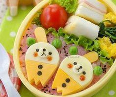 Ice cream Bears Bento   Flickr - Photo Sharing!