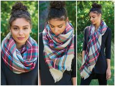 It's time to do a little fall cleaning by updating your wardrobe with the most essential piece this season—the blanket scarf.