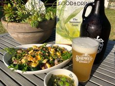 Sandwich Brewery's Prairie Sunshine Wheat Beer with Grilled Corn & Vegetable Salad. Corn Vegetable, Vegetable Salad, Olive Salad, Pickling Jalapenos, Wheat Beer, Yellow Summer Squash, Complete Recipe, Chimichurri, Fresh Vegetables