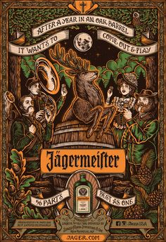 Jägermeister - 56 Parts on Behance