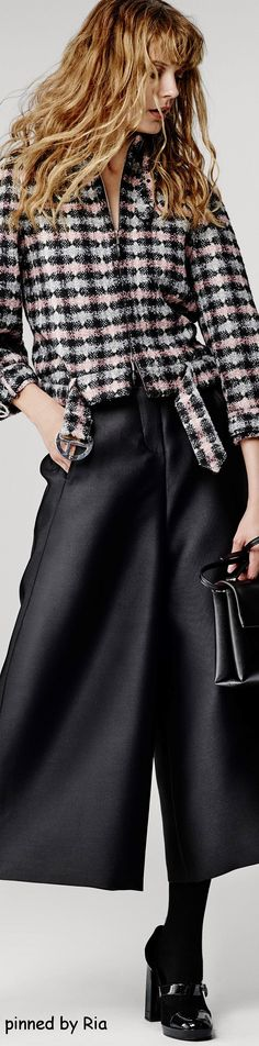 Giorgio Armani Pre Fall 2016 l Ria women fashion outfit clothing style apparel @roressclothes closet ideas
