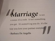 Marriage quote.