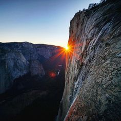 chrisburkard:  Much will be written about the Dawn Wall.  But this I am certain, it is a monumental feat of human accomplishment.. And will always stand as a testament to the power and will of the human spirit.    I pack up my bags an prepare to descend El Capitan.. I am blown away by the commitment of @tommycaldwell @kjorgeson for working on this route for 7 years.. And ultimately spending 19 days to reach the summit on what is indisputably the hardest big wall climb in the world, congrats…