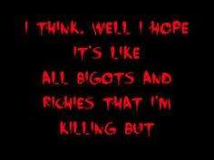 Juggalos icp lyrics the dating