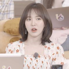 Uploaded by jessica luvs wannie. Find images and videos about red velvet, low quality and wendy on We Heart It - the app to get lost in what you love. Shot Hair Styles, Curly Hair Styles, Seulgi, Type Of Girlfriend, Baby Icon, Peek A Boo, Wendy Red Velvet, Velvet Shorts, Very Long Hair