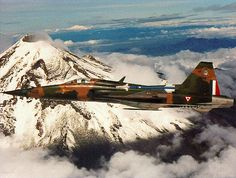 Fuerza Aérea Mexicana F5 FAM popocatepetl