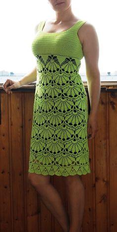 Tunney's Pasture Tunic pattern by Jennifer Ozses Crochet Skirt Pattern, Tunic Pattern, Crochet Stitches Patterns, Top Pattern, Free Pattern, Gilet Crochet, Crochet Shirt, Black Crochet Dress, Crochet Lace