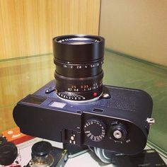 Leica M Monochrom with Summilux-M 50mm F1.4 ASPH - black  #leica #leitz #summilux #leicaMM #Monochrom #Monochrome #50mm #fotopia