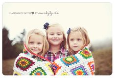 @Becky Jensen this would be cute with Maddie and Jenna, maybe with the blankets from Grandma Norma?